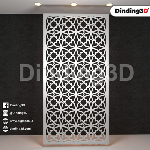 Panel Dinding Grille Paenl SGR 0015D